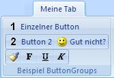 ButtonGroups