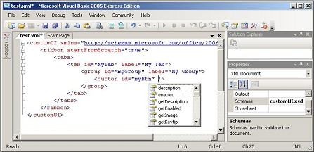 IntelliSense in VB 2005 Express
